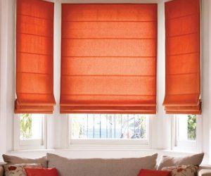 pavillion_orange_roman_big roman blinds